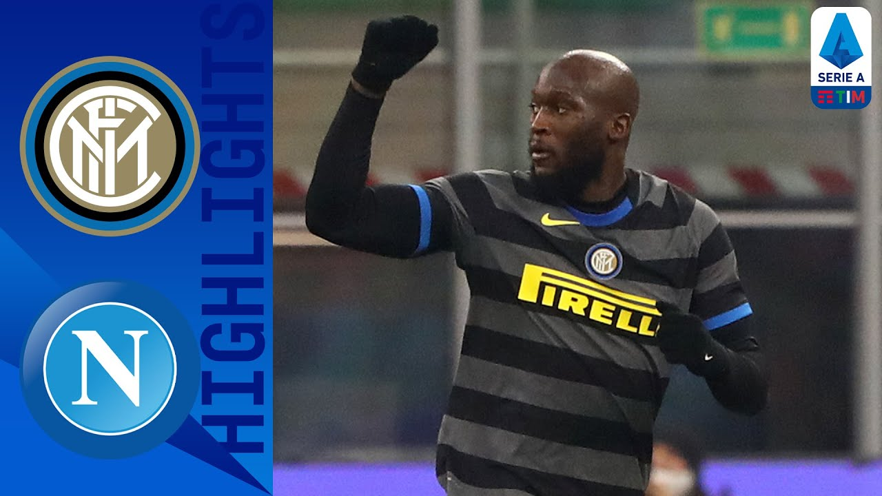 Inter 1-0 Napoli   Lukaku Takes Inter to Within a Point of the Top   Serie A TIM