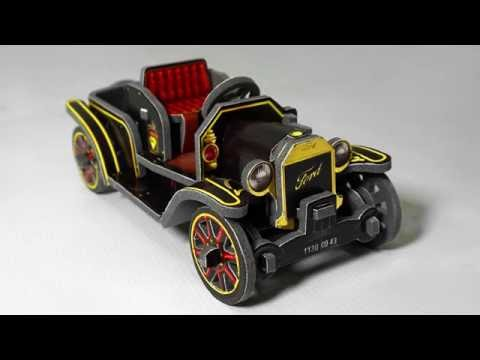 Ford Model T 3D Puzzle