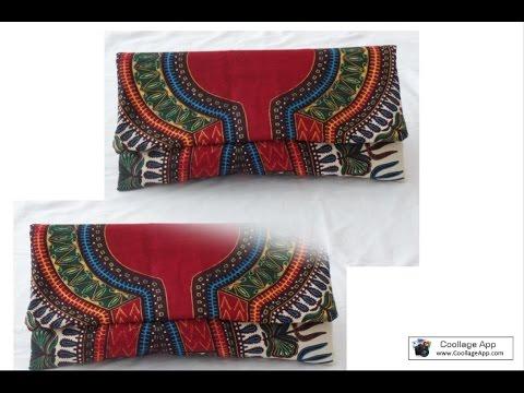 Diy simple clutch bag