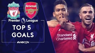 Download Top five Premier League goals in Liverpool-Arsenal rivalry | NBC Sports Video