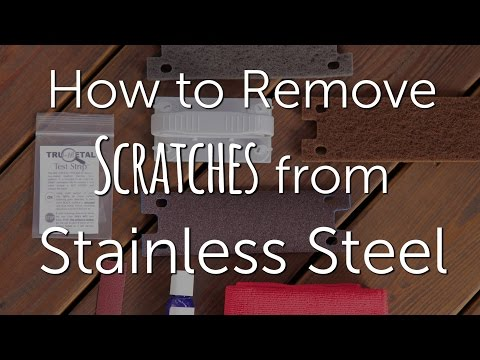 How to Remove Scratches from Stainless Steel | DIY Repair & Restore
