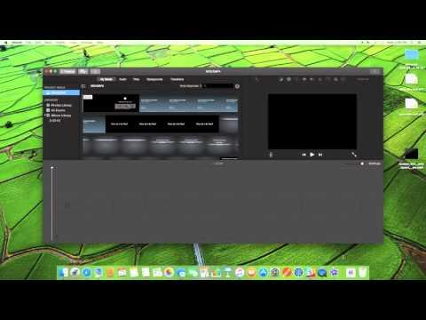 Convert MOV to MP4 using iMovie