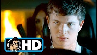 BABY DRIVER (2017) Movie Clip - Tequila Gun Fight |FULL HD| Jamie Foxx