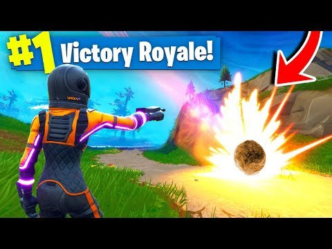 *NEW* METEORS CRASHING Gameplay In Fortnite Battle Royale!