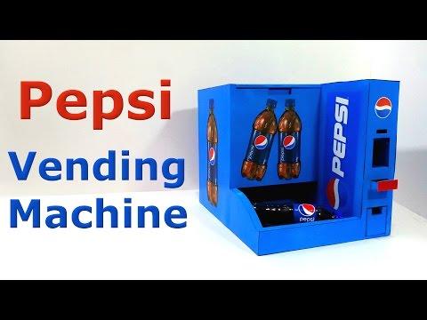 How to make Pepsi Vending Machine