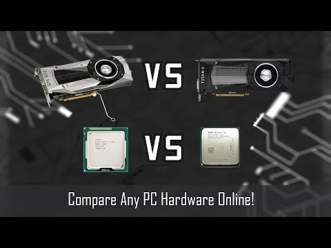 How to Compare Any PC Hardware Online! (really easy)