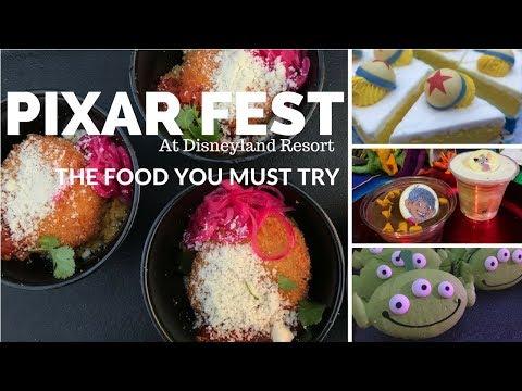 Pixar Fest at Disneyland Resort The Food You Must Try