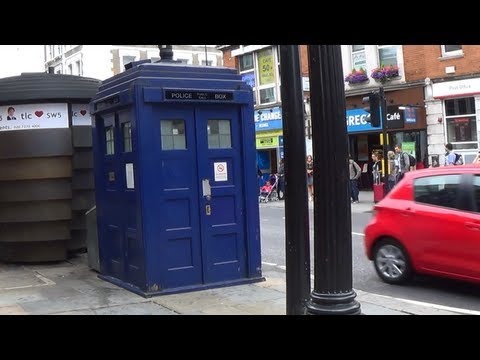 The Tardis box