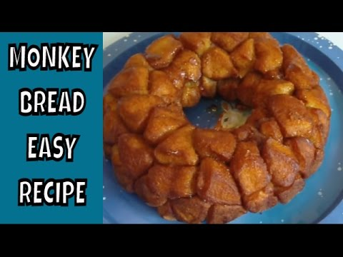 Monkey Bread  ~ Super easy recipe