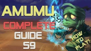 [ITA] NOT INFERNAL AMUMU GUIDE! Build & runes per Amumu jungle s9 - League of Legends -Learn to Play