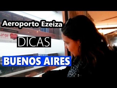 Dicas do Aeroporto Buenos Aires Ezeiza: Free Shop, Duty Free, Transfer e mto mais