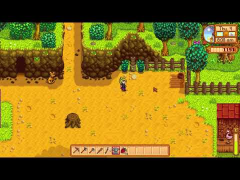 How to be nice to your Dog or Cat pet - Stardew Valley