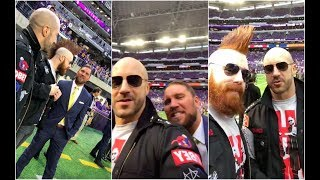 Sheamus and Cesaro go to the Vikings game before TLC with Curtis Axel