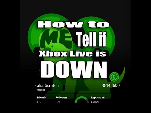 Can't Connect to Xbox Live? Is Xbox Live Down?