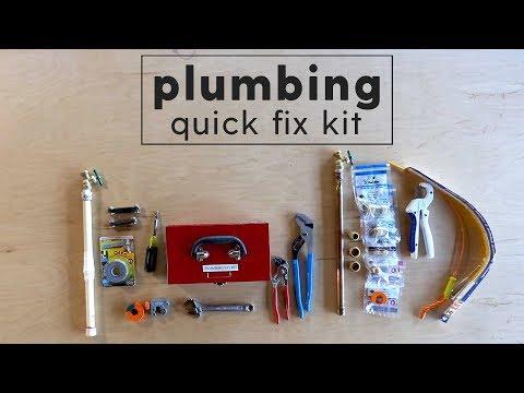 Plumbing Quick Fix - 4 Tips