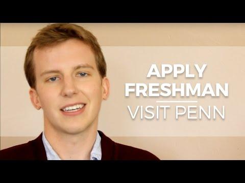 Visit Penn: Apply Freshmen: