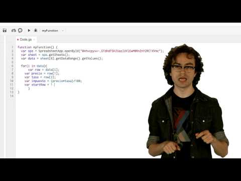 Introducción a Google Apps Script - Lección 2 (Spanish)