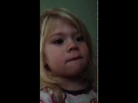 Toddlers bad dream about a bumble bee