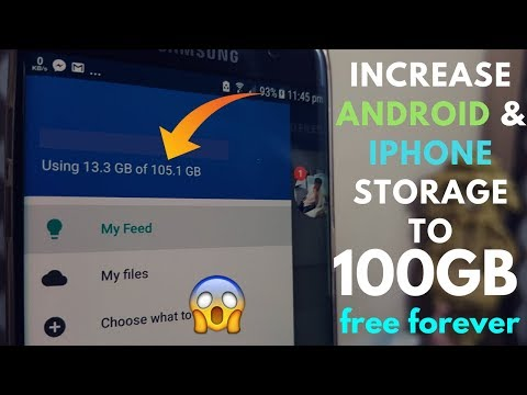 Get 100GB Storage on Any Android and iPhone Free Forever
