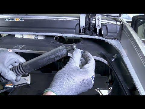 Heckklappendämpfer wechseln - BMW E39 [TUTORIAL]