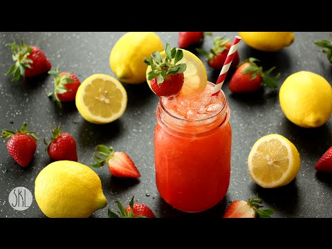 1 Minute Recipe | Strawberry Lemonade