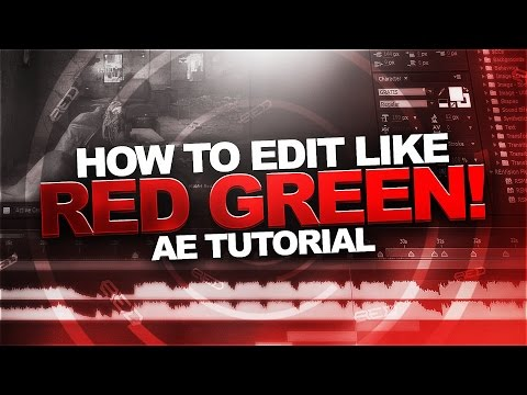 How To Edit Like Red Green! (Updated Sync & Pan Crop Tutorial) [Adobe After Effects]