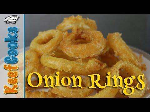 Onion Rings - Beer-Battered, Deep-Fried