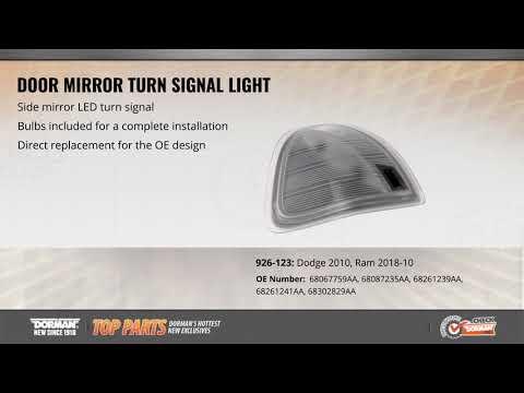 Door Mirror Turn Signal Light
