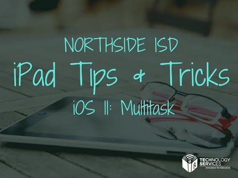 iOS 11: Multitasking