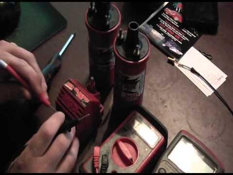 MSD ignition coil test repair