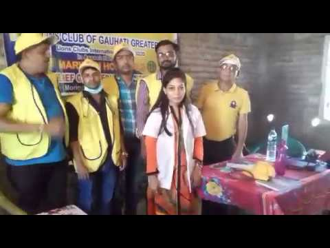 Lions Club Of Guwahati Greater Provided Relief Material To Flood Victims
