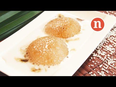 Sago Pudding with Palm Sugar | Sago Gula Melaka [Nyonya Cooking]