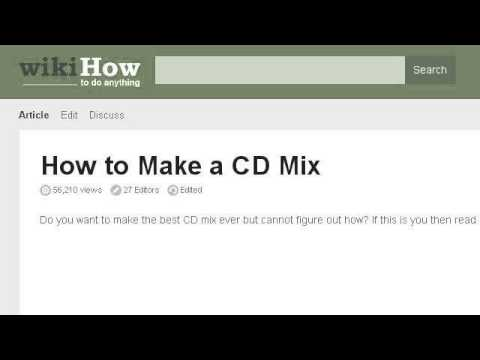 How-To Use Itunes To Create A Mix CD