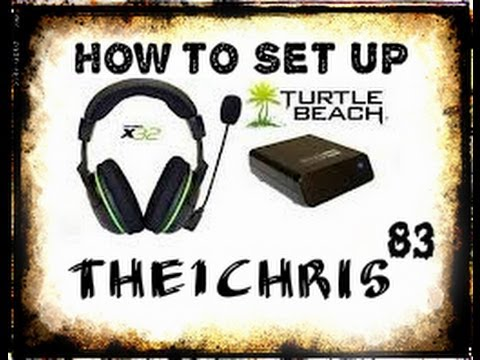 How To Set Up Turtle Beach x32 Headset
