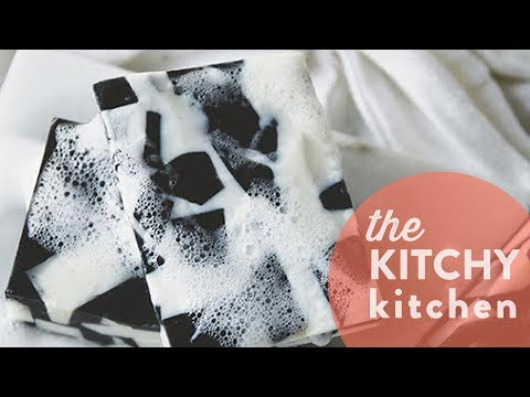 DIY Terrazzo Soap // The Kitchy Kitchen