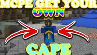 How to get Custom Capes and Skins for Minecraft: POCKET