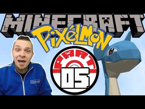 Minecraft Pixelmon - Part 5 | DEEP SEA POKEMON!