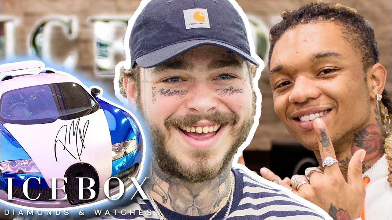 Post Malone Buys Rolex For 21 Savage & Autographs A Bugatti!