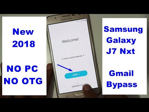 Download Samsung Galaxy J7 Nxt Google lock reset Frp New 2018