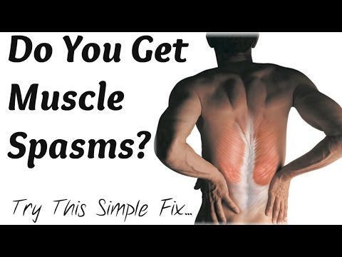 How To Get Rid Of Muscle Spasms (simple electrolyte trick)