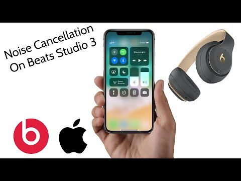 Beats By Dre Studio 3 How To Turn On Off Noise Cancellation Wireless Headphones