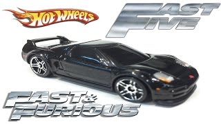 Fast & Furious Mia's Acura NSX - Hot Wheels Customs - Fast Five