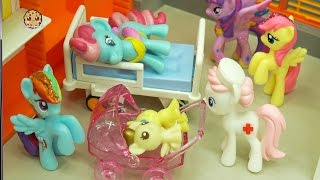 Twin Baby Foals & Crystal Surprise Babies Born At Hospital with My Little Pony