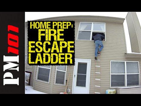 (2016) Home Prep: Fire Escape Ladders - Preparedmind101