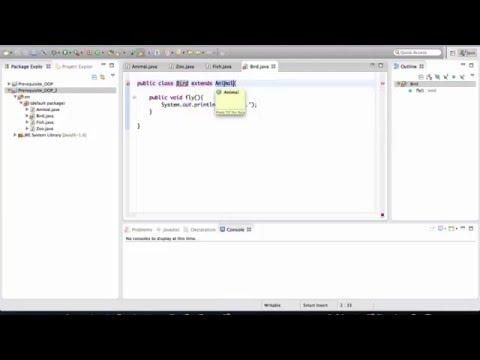 Java - OOP Basics 3/5 (inheritance)