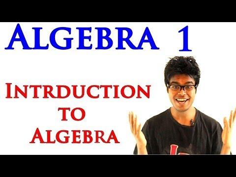 Algebra 1 Lessons - Introduction to Algebra
