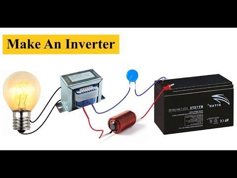 Simple Homemade Inverter 12V to 220V || DC to AC Converter DIY