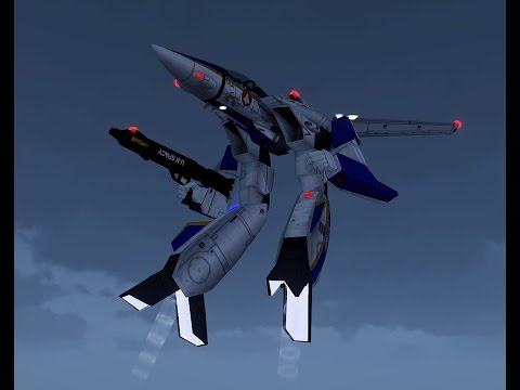 ArmA 3 - Macross/Robotech VF-1A MOD Dev. part 3
