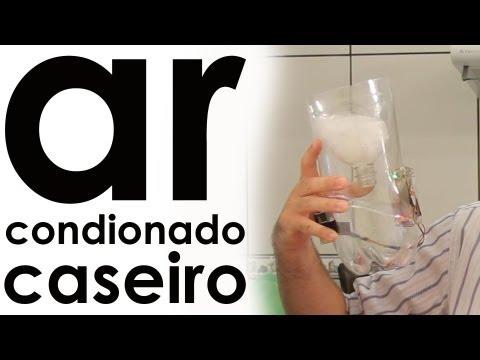 Como fazer um ar condicionado caseiro com garrafa pet