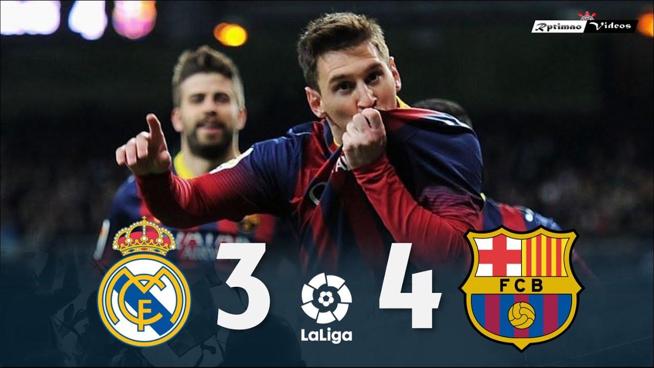 Real Madrid 3 x 4 Barcelona ● La Liga 13/14 Extended Goals & Highlights HD